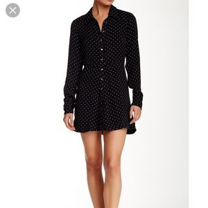 NWT Free People This Town Shirt Dress